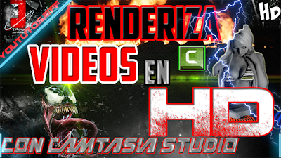 COMO RENDERIZAR UN VIDEO EN HD CON CAMTASIA STUDIO | 2015