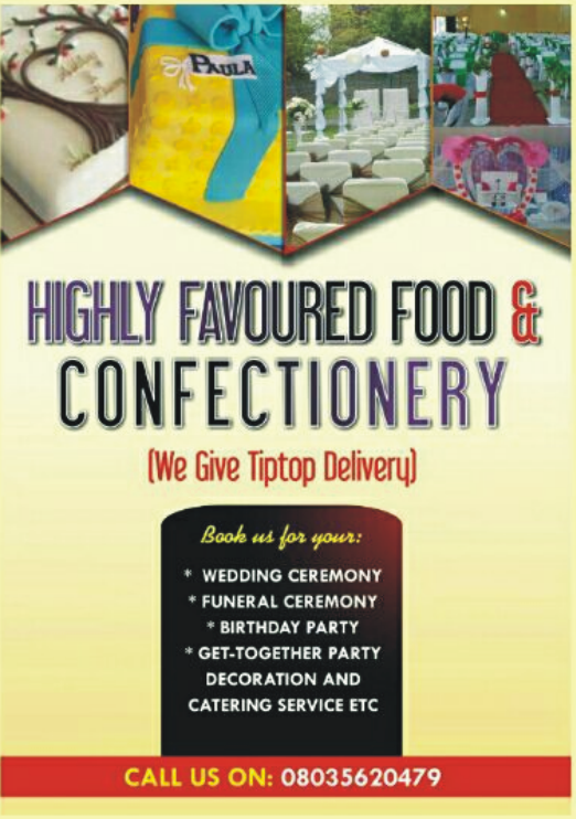 Highly Favoured Foods & Confectionery