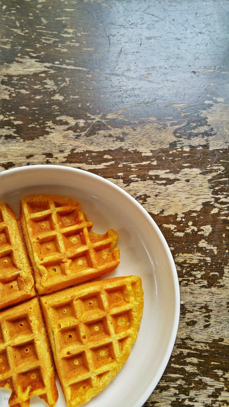 For the Sweet Tooth: Fluffy Pumpkin Spiced Waffles! Easy to make and extra tasty, these pumpkin spice waffles are the perfect breakfast booster to get you ready for the rest of the day! Click to read more or pin and save for later.