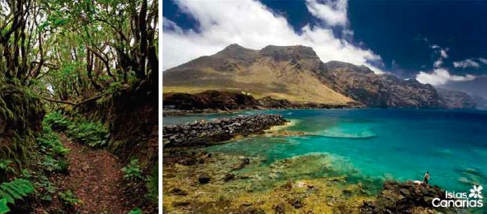 Islas Canarias, Camino Real Las Vueltas, Teno
