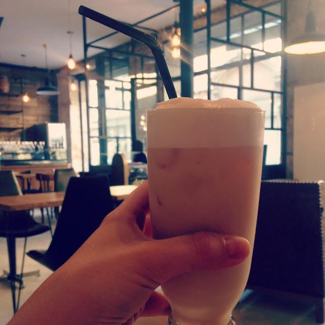 salon de thé besançon, chai tea latte glacé