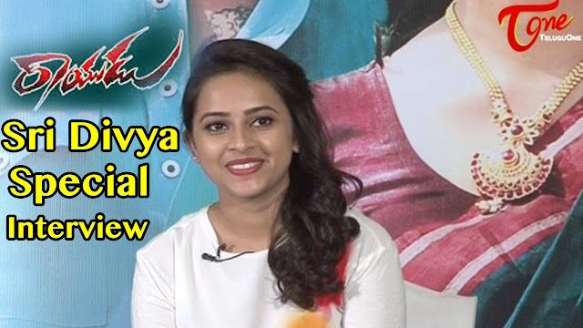 Sri Divya Special Interview About Rayudu Movie