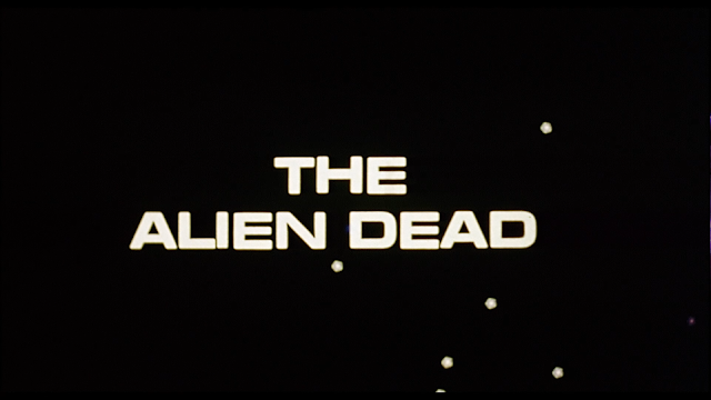 The Alien Dead Title Card