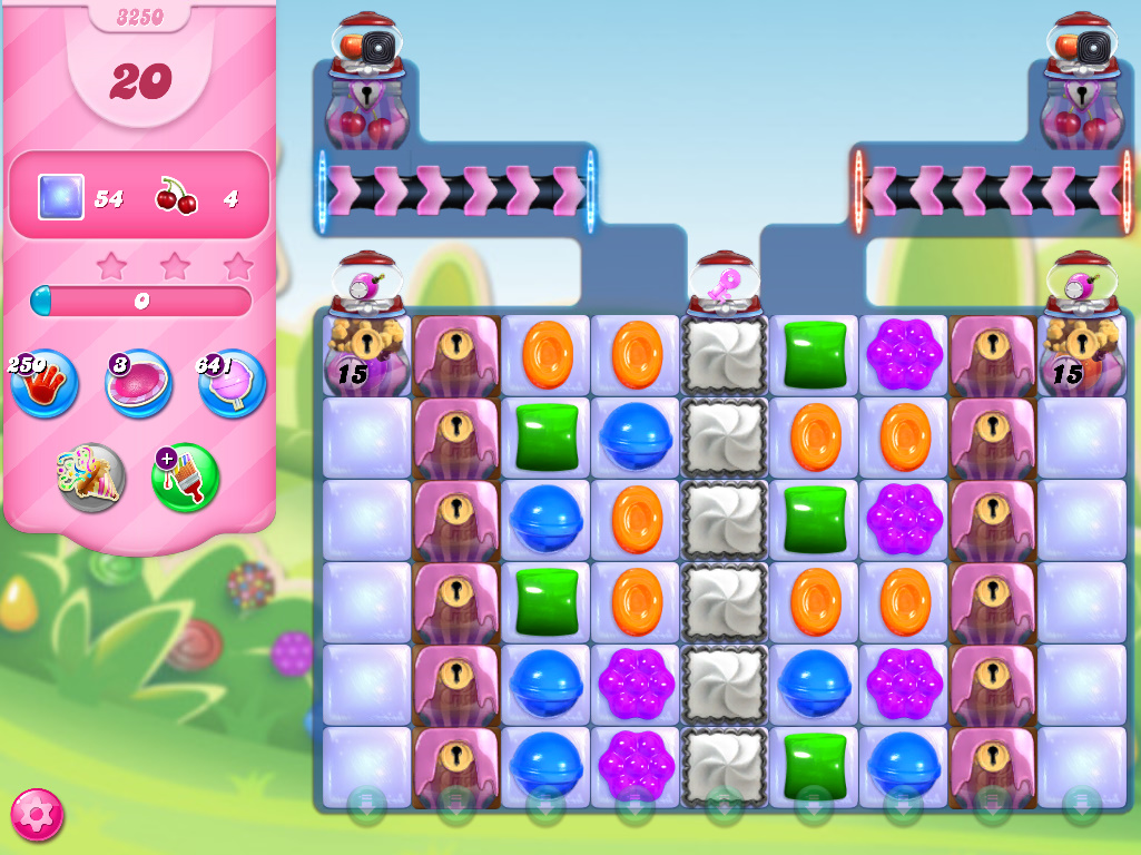 Candy Crush Saga level 3250