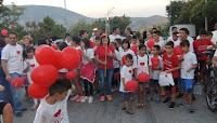 15η Πανελλήνια Λαμπαδηδρομία Συλλόγων Εθελοντών Αιμοδοτών - Σιάτιστα 19 Αυγούστου ΄17