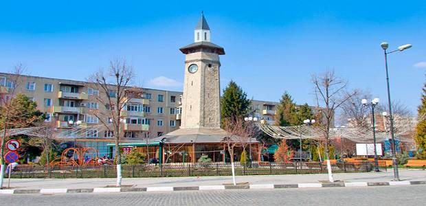 Turnul cu ceas sau Turnul Ceasornicarului din orașul Giurgiu