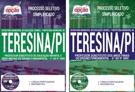 Apostila concurso SEMEC Teresina PI 2017