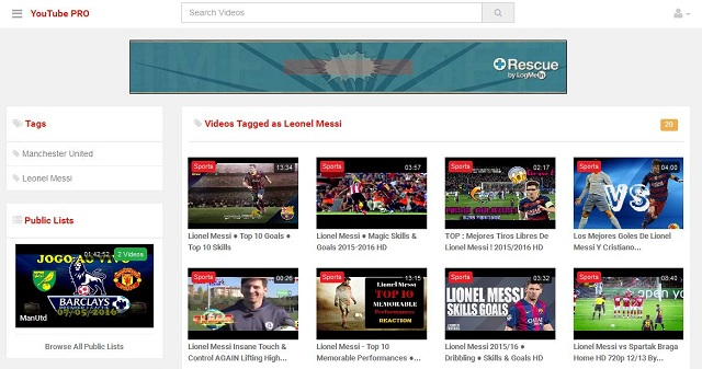 YouTube CMS Pro