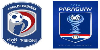 Logo Copa primera tigo y copa paraguay