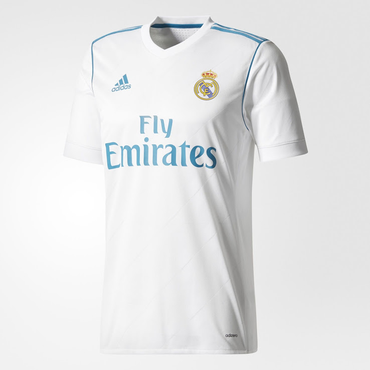 huge discount c2396 f21f5 Here Are All Real Madrid Home Kits Of The Cristiano Ronaldo ...