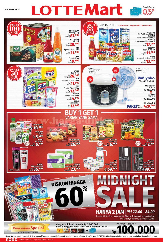 Katalog Harga Lottemart Hypermarket Promo Midnight Sale Periode 25 Voucher Belanja Hypermart Dapatkan Update Terbaru Di Fanspage
