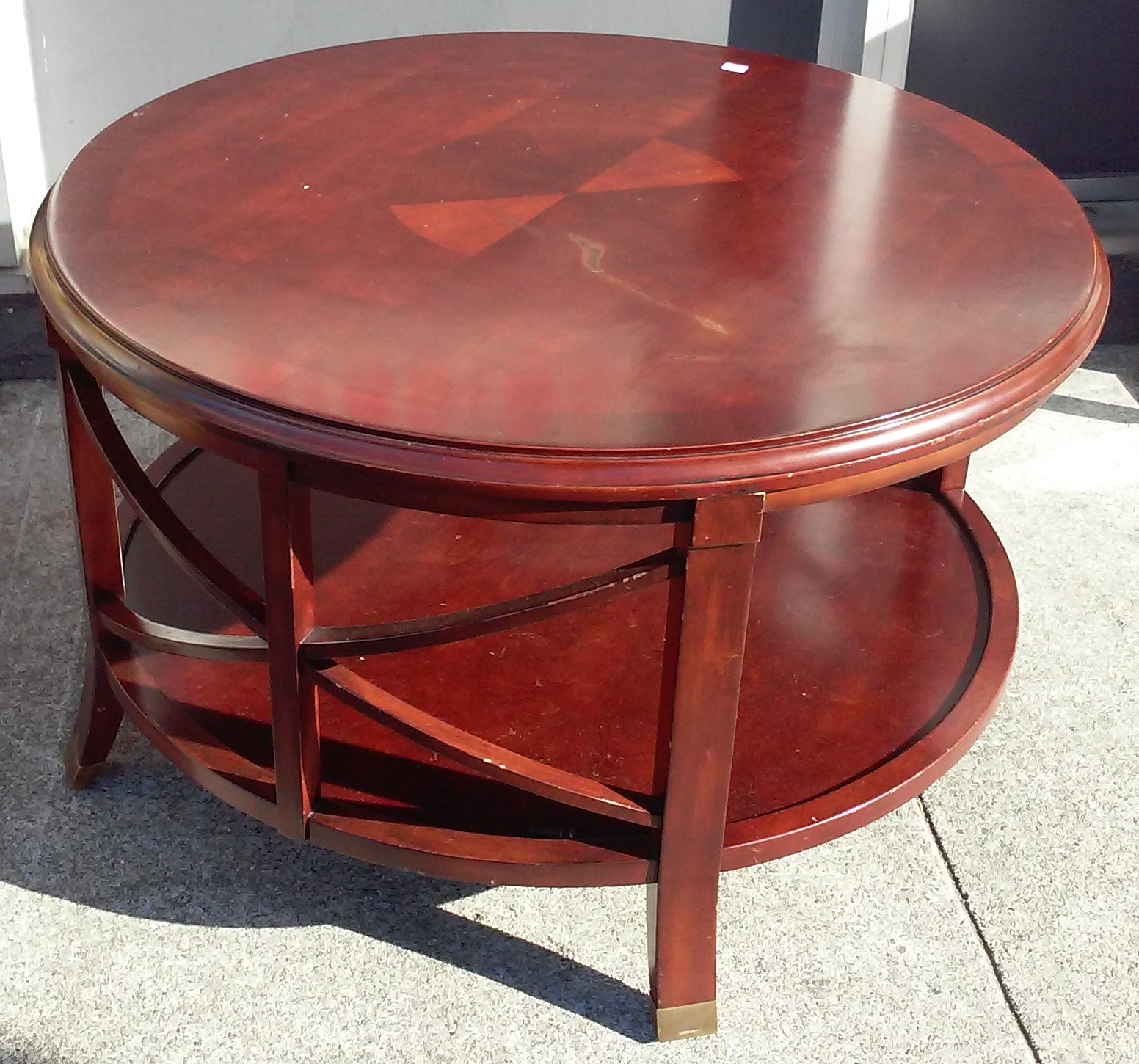 Uhuru Furniture Collectibles Sold Bargain Buy 21156 Bombay Coffee Table 60