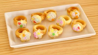 指輪クッキー