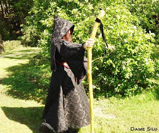 costume sorciere noir