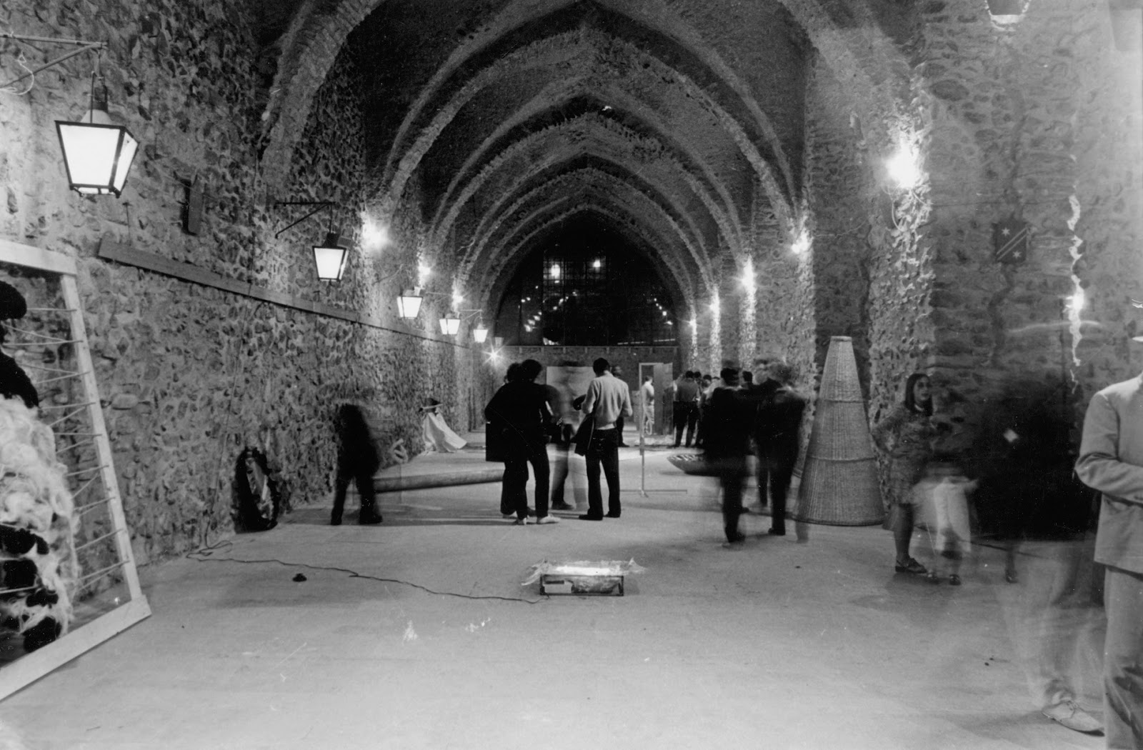 """00c85f2f5d """"arte povera più azioni povere"""" agli Arsenali di Amalfi al Castello di  Rivoli"""
