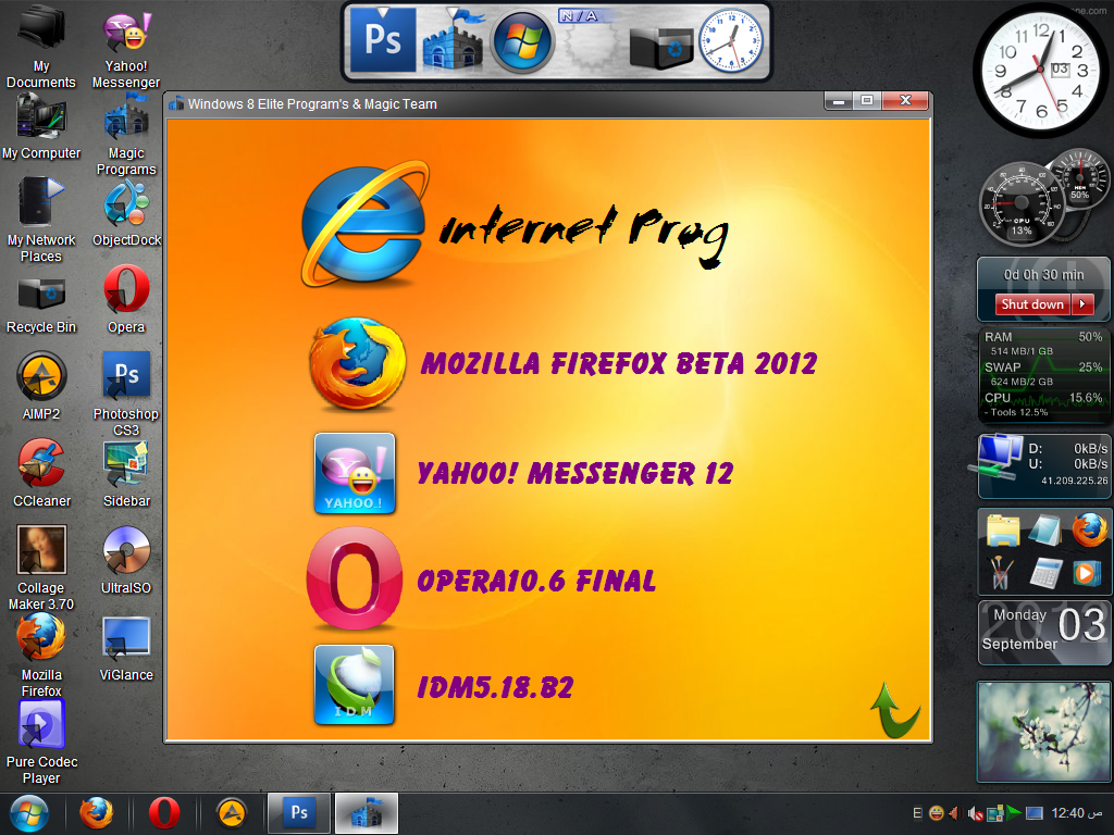 Windows XP SP3 - 8 Lite Edition v2.0 Iso | Update | - 321 ...