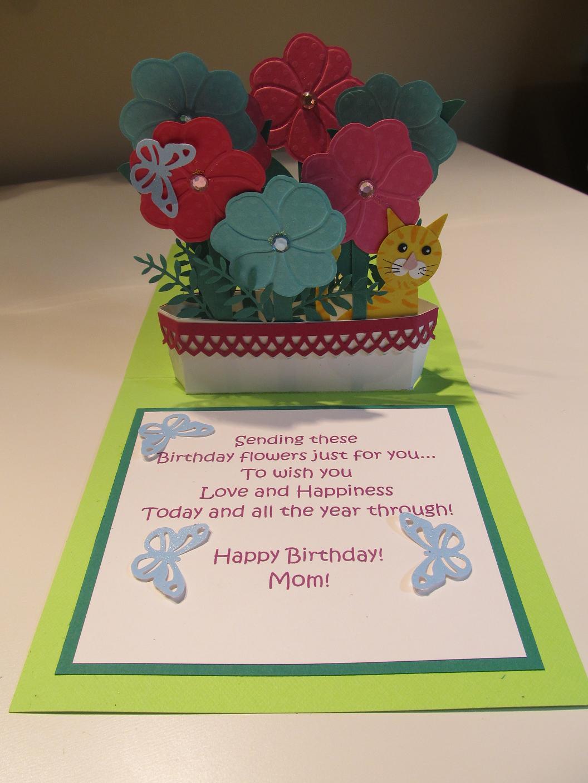 calla lily studio blog window box birthday card