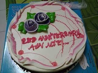 Hepi Anniversary Ain Dan Mie