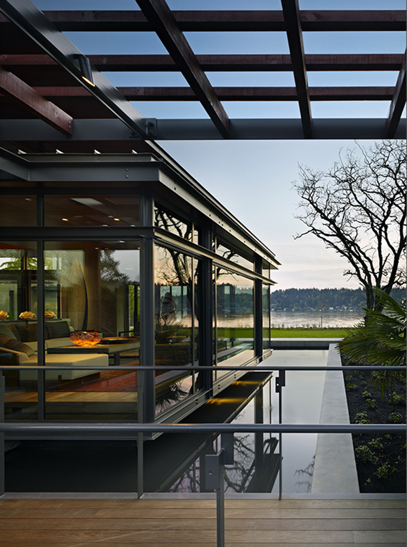 Lake Washington Shores Pavilion House