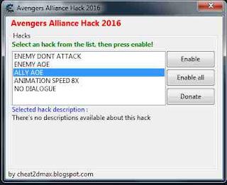 Marvel Avengers Alliance Hack CEtrainer Hack Updated 2016 V1