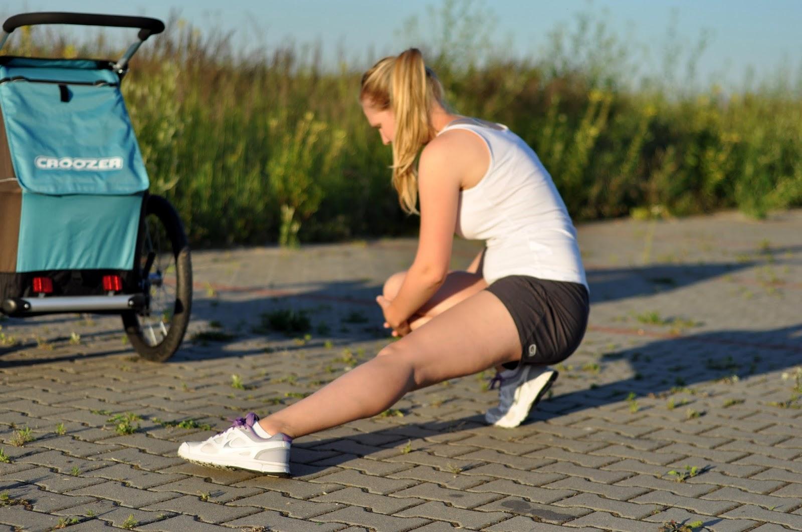 croozer kid plus bieganie z wózkiem bieganie z dzieckiem wózek biegowy bieganie po ciąży