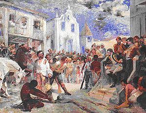 Revolta de Vila Rica ou Revolta de Felipe dos Santos (1720)