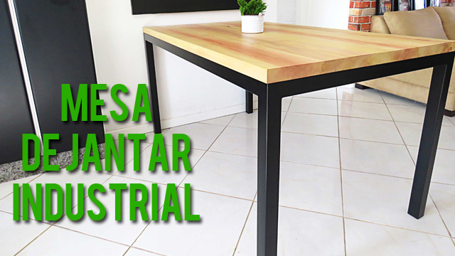 Minha mesa de jantar estilo industrial blogolista for Mesa estilo industrial