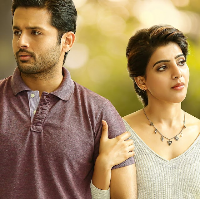 Nithin A aa movie photos and stills at shooting time on Facebook
