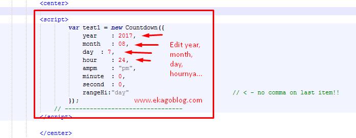 Cara Mudah Membuat Countdown Pada Landing Page Anda