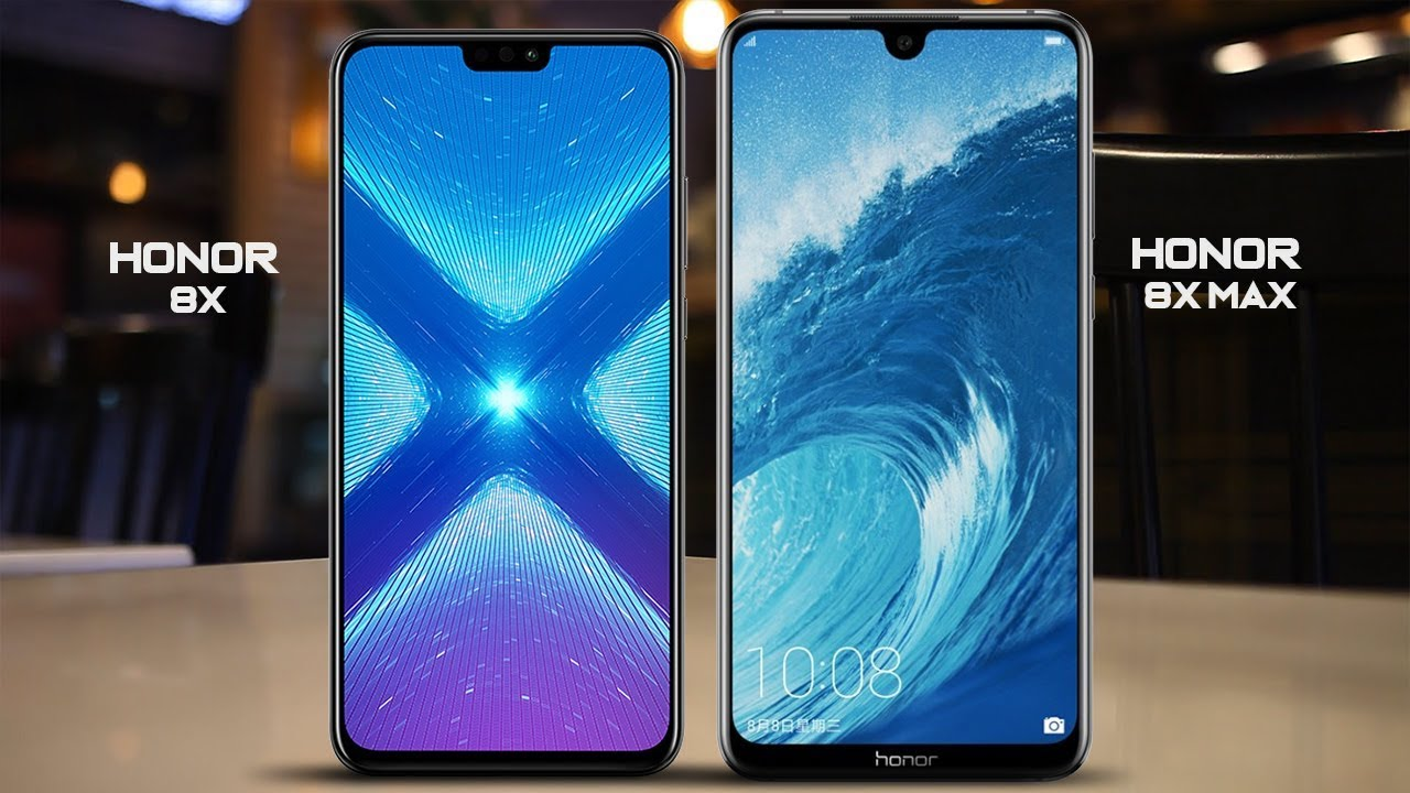 Difference Between Huawei Honor 8X Max  And  Honor 8X