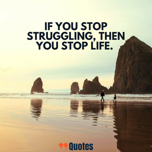 life struggles quotes