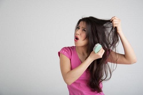 علاج تساقط الشعر في فترة الرضاعه