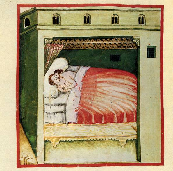 Resultado de imagen de matrimonio medieval miniaturas