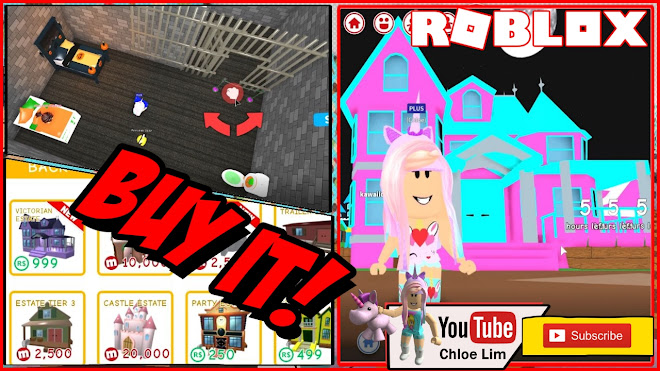 Roblox MeepCity Gameplay! Buying the Victorian Estate and making a Jail room!