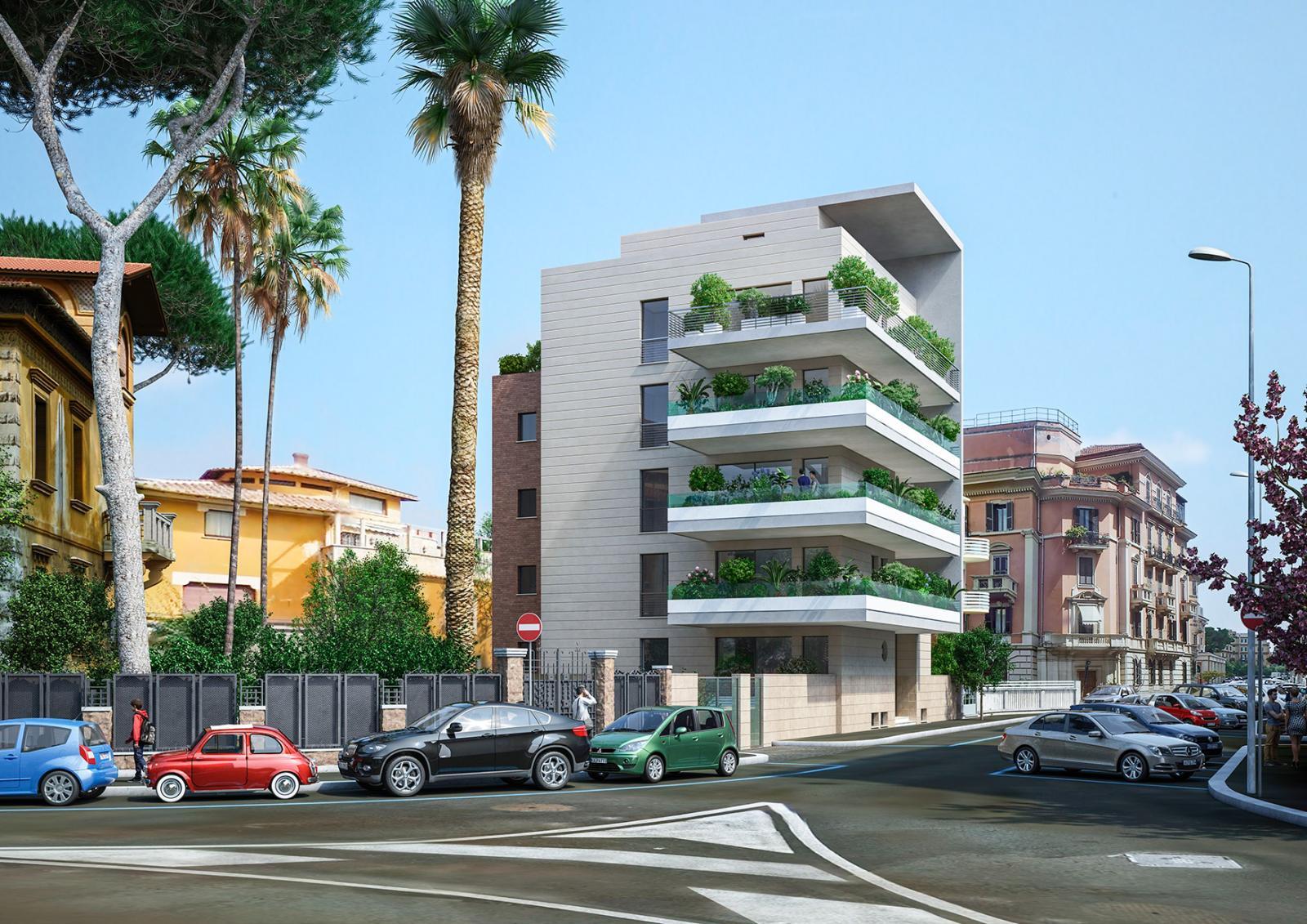 Roma fa schifo ecco perch la nuova palazzina di via for Palazzine moderne
