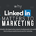Why LinkedIn Matters to Marketing infographic