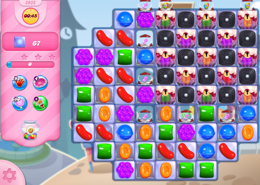 Candy Crush Saga level 2932