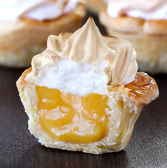 Lemon Meringue Pie Bites Recipes