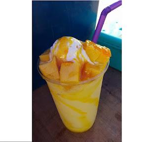 Cara Buat Jus Mango Frappe