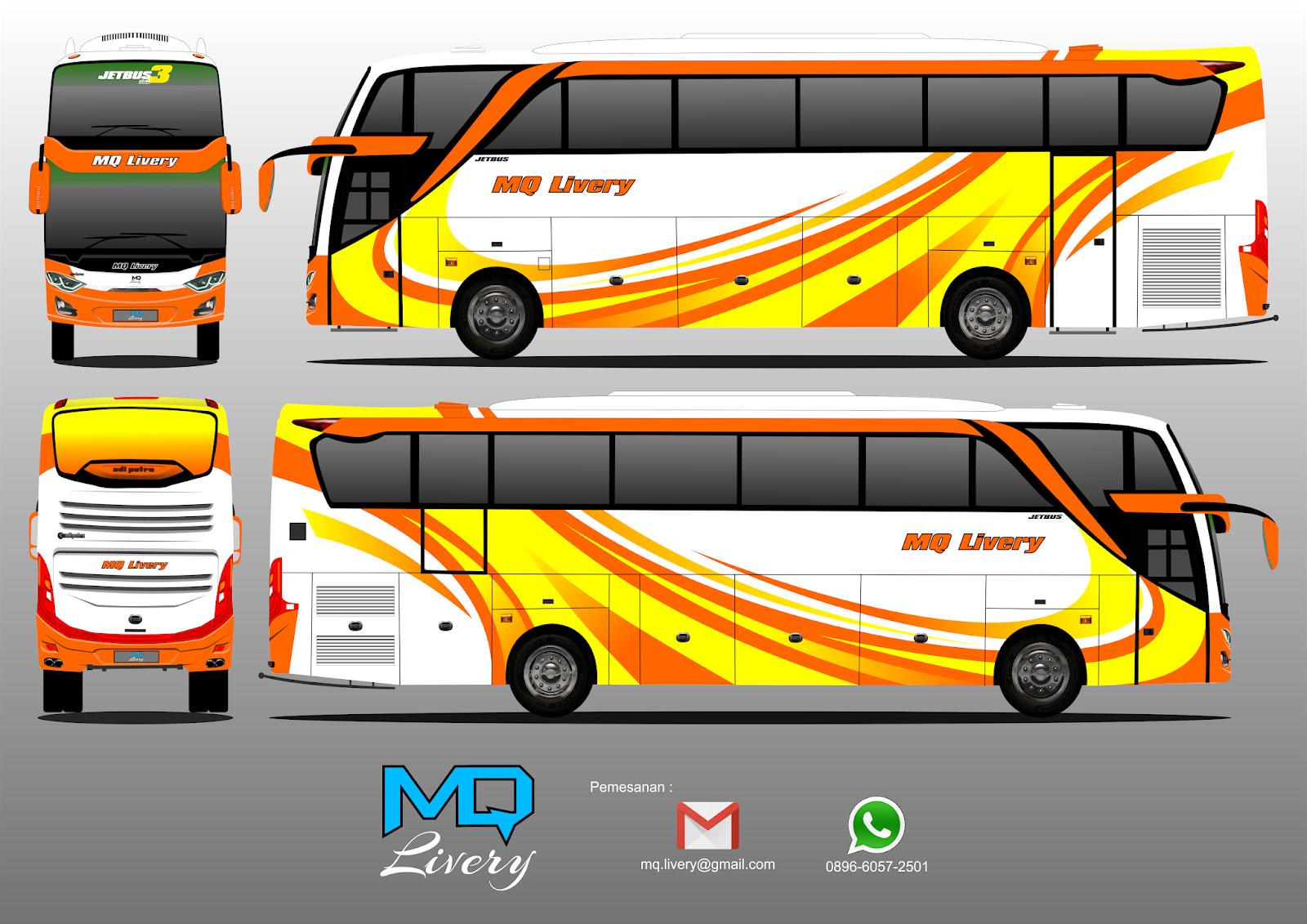 Livery Bus Shd Efisiensi Infotiket Com