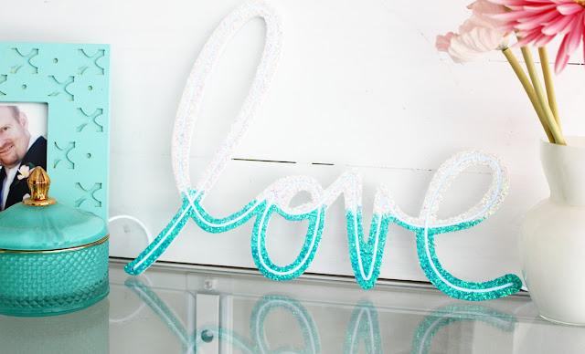 Heidi Swapp Neon word