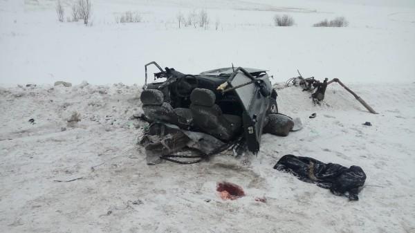 В Кугарчинском районе столкнулись три машины