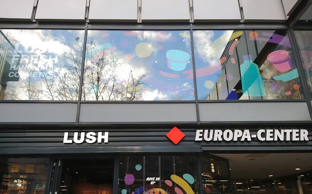 größter Lush Store Deutschlands Belin Europa Center