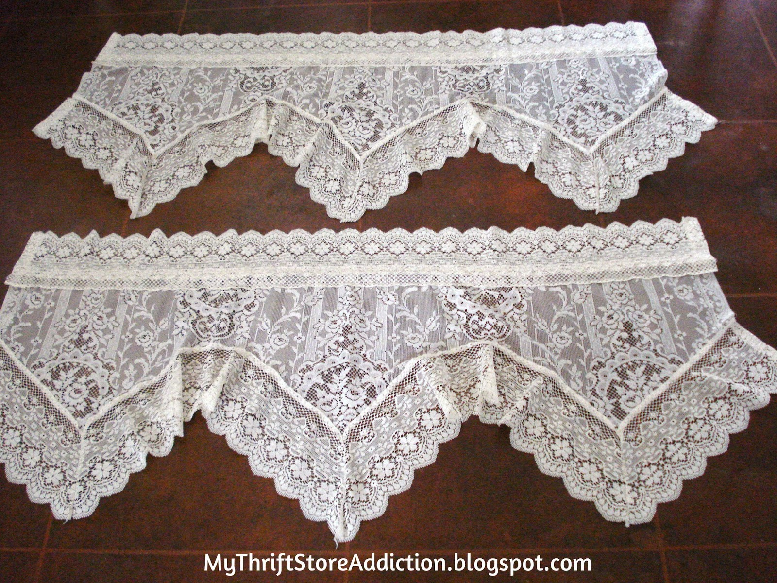 Lace valances
