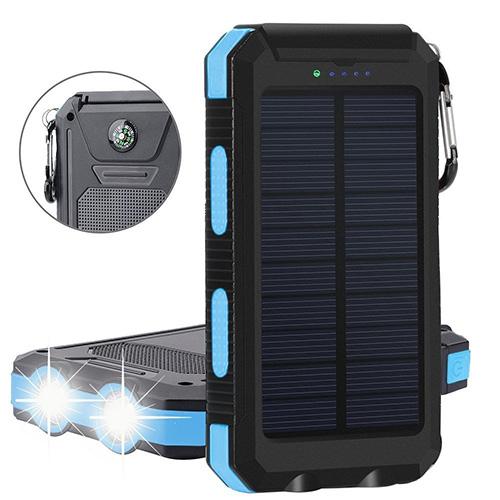 Lampe rechargeable avec panneau solaire