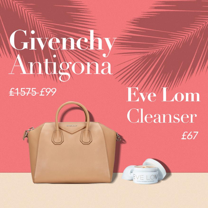 Eve Lom cleanser or Givenchy Antigona?