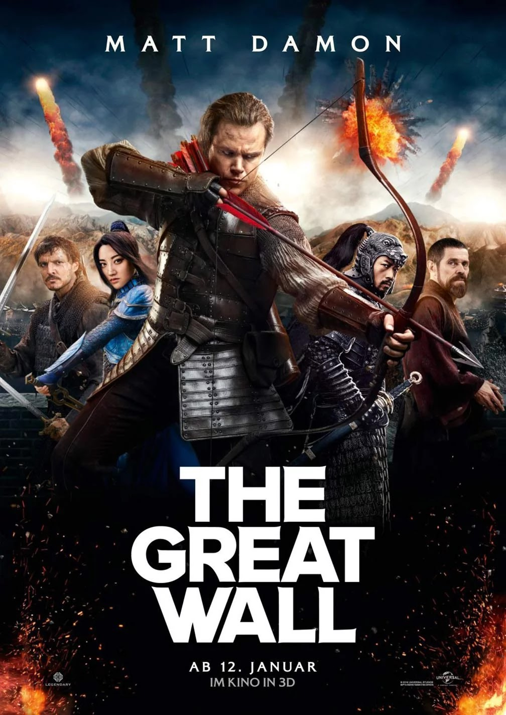 the great wall (2016) full movie download hd | new movie | latest