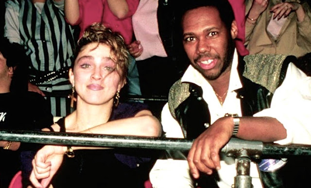 Madonna and Nile Rodgers rare pictures