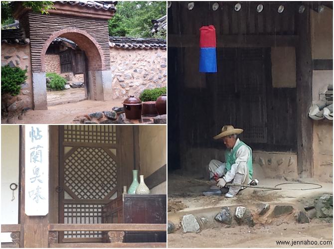 Matkapäiväkirja Etelä-Korea 2016 Korean Folk Village (한국 민속촌)