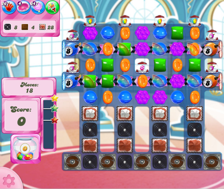Candy Crush Saga level 2649